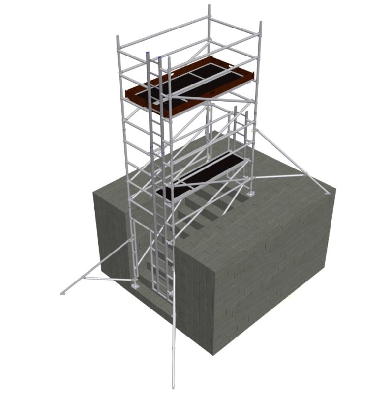 Tower on Stairs
