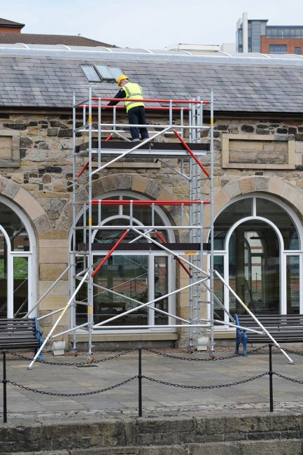 Span 500 with integral ladder