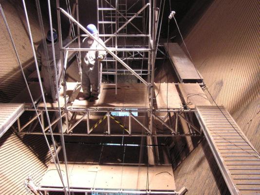 Boiler Scaffold