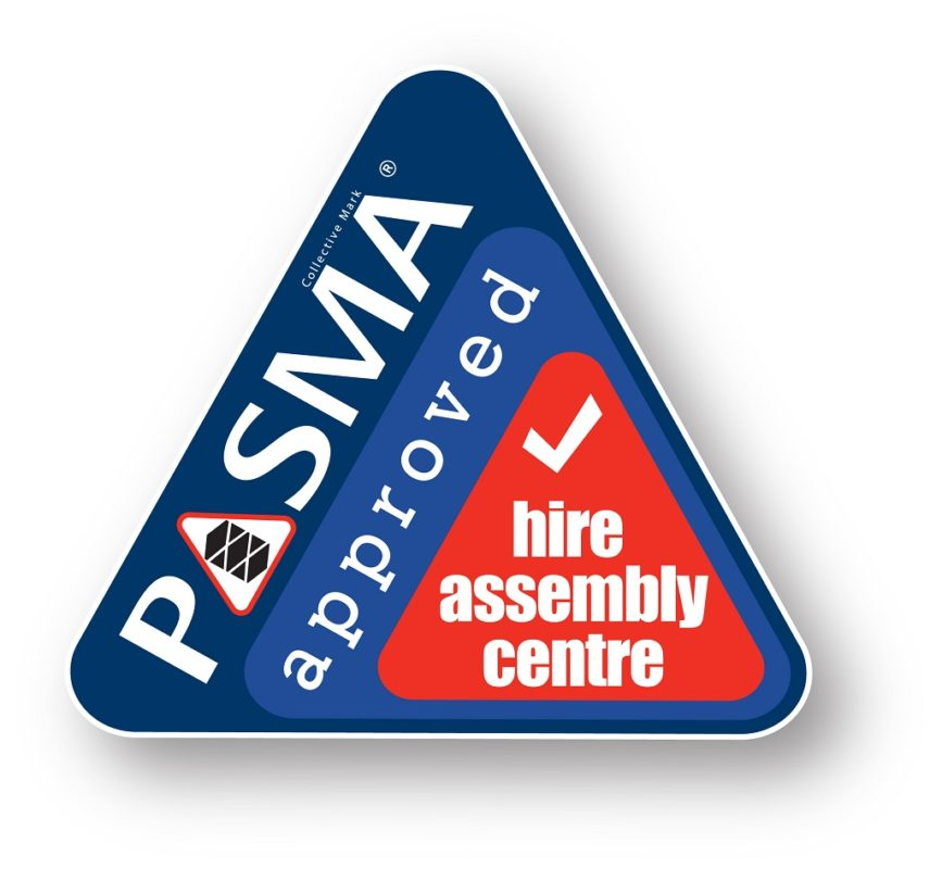 Pasma Hire Assembly Centre logo
