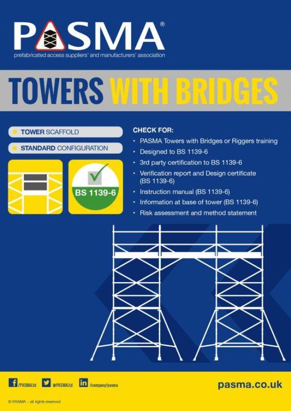 Ridgeway Scaffold Hire Towers with Bridges