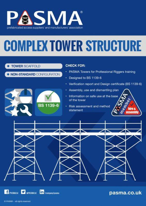 Ridgeway Scaffold Hire Complex Tower Structure