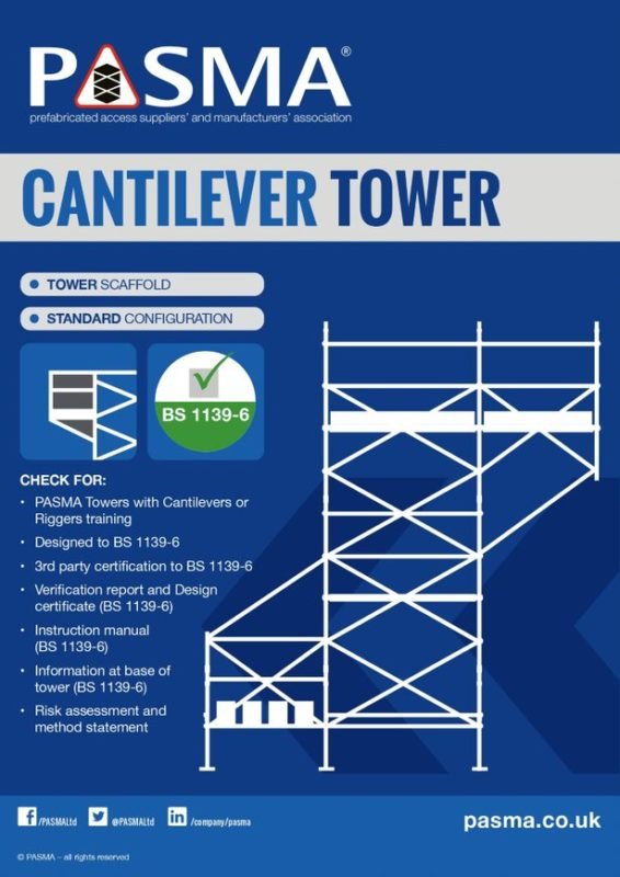 Ridgeway Scaffold Hire Cantilever Tower
